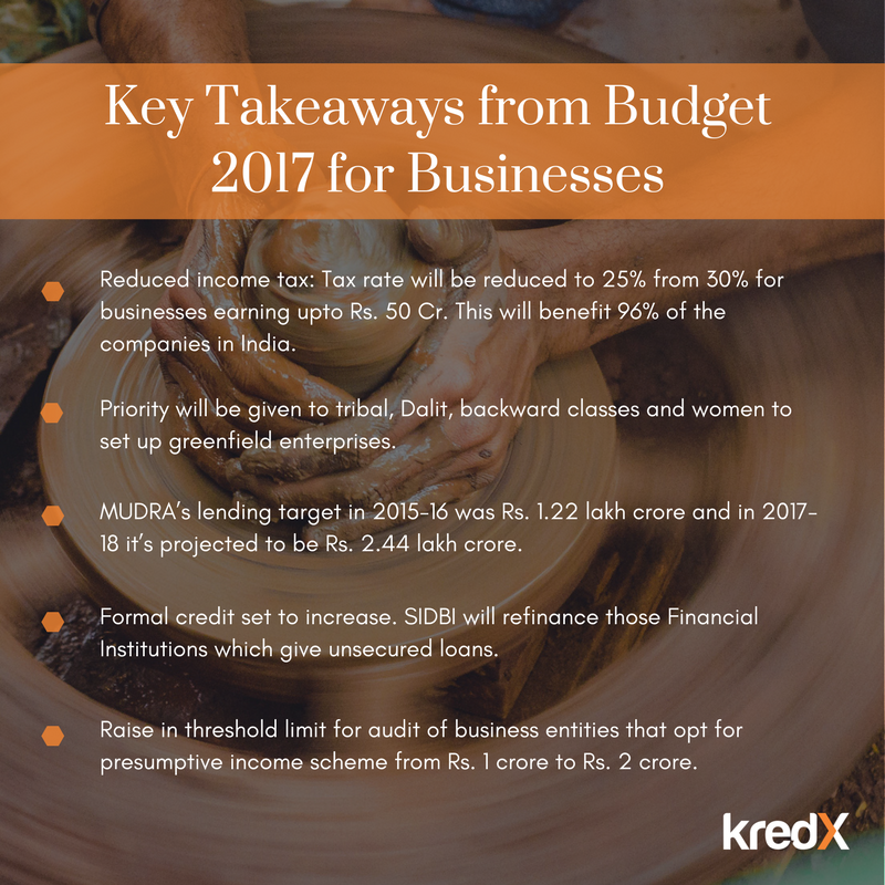 key takeaways from budget 2017 for businesses