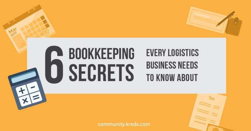 Bookkeeping secrets for logistics businesses